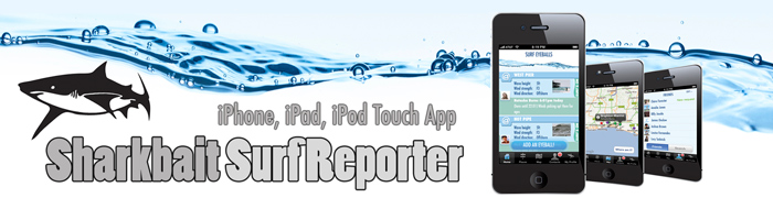Surf Reporter iPhone iPad Surfing app