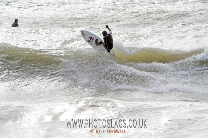 Cliff cox getting Air in Brighton