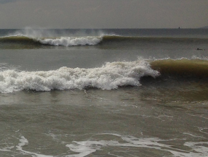 Surf in East Wittering