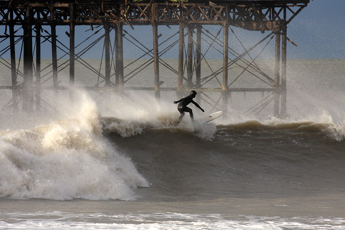 surfing the storm in sussex