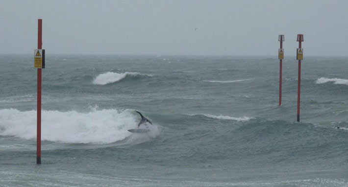 Surf at shorham port